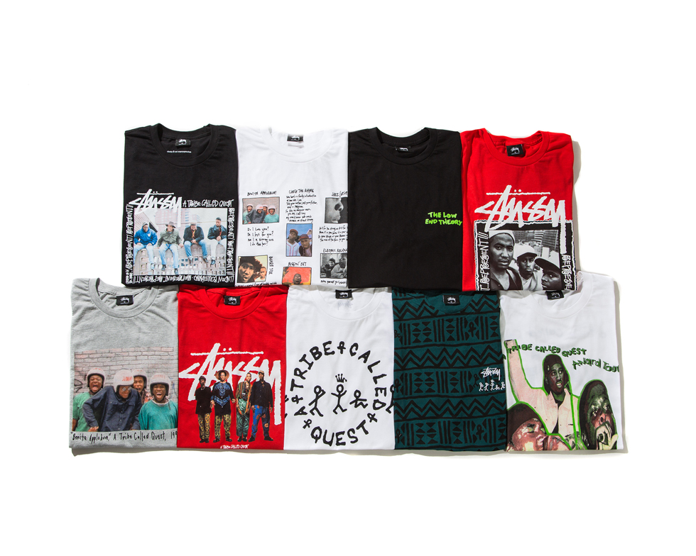 Lyric a tribe called quest can i kick it lyrics : Stussy and A Tribe Called Quest Collection | Stussy