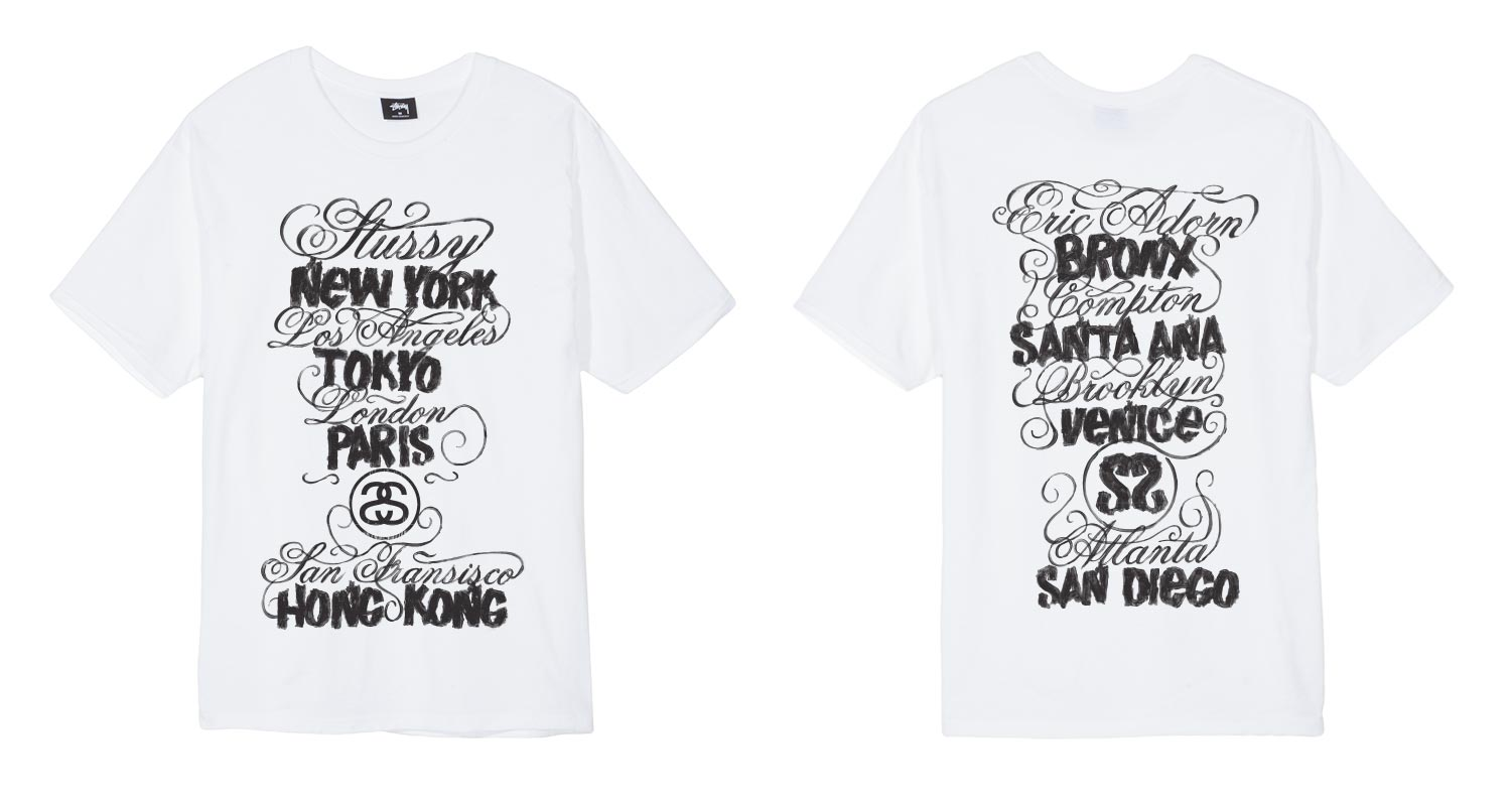 90f0376a410 Stüssy World Tour